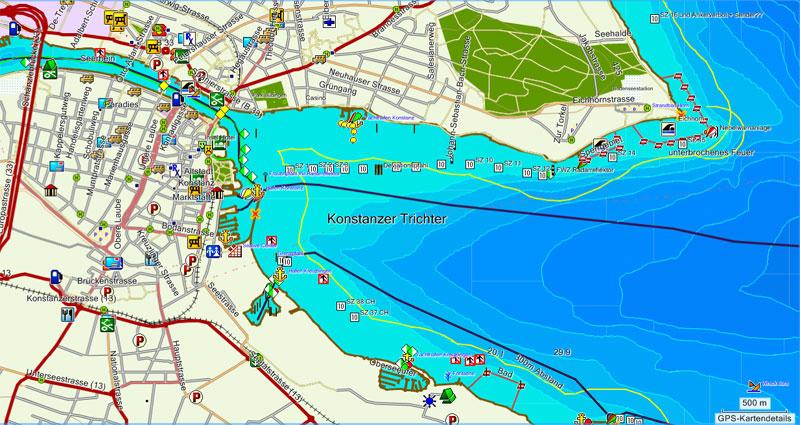 Garmin Map Update >> Bodensee Navigationskarte